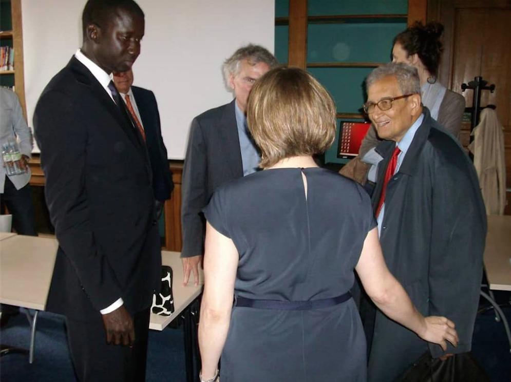 M. Serigne Abdou Mbacké NDAO, Maire de Mbacké, ex- Conseiller Spécial du Premier Ministre du Sénégal, nommé Directeur Exécutif pour la promotion des collectivités locales d'Afrique.