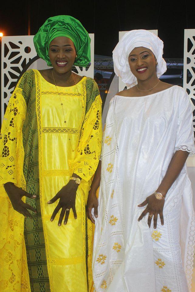 Tivaouane 2019: Admirez les tenues éblouissantes de Faty Dieng et de Sokhna Natta Mbaye