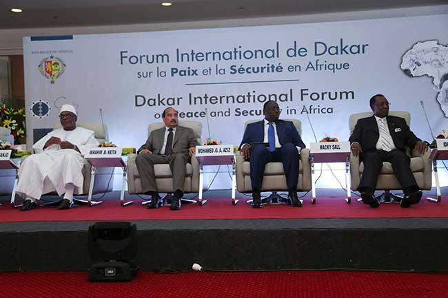 Forum international de Dakar sur la Paix: Macky Sall préside lundi la cérémonie d'ouverture de la 6e édition