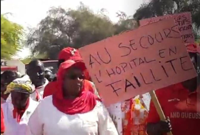 Marche pacifique à l'hôpital de Richard-Toll: Le personnel réclame plusieurs mois d'arriérés de salaires