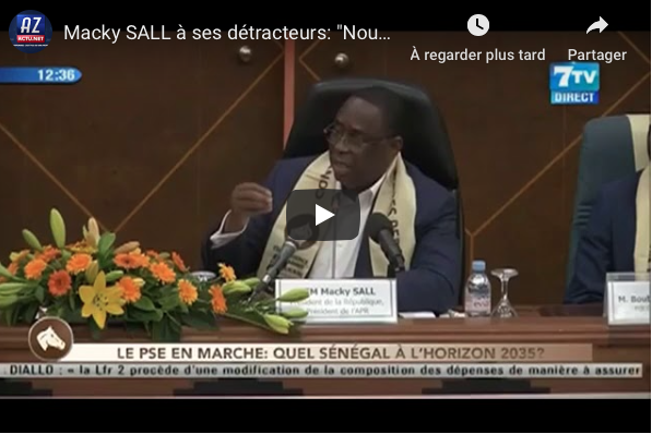 Endettement du Sénégal : La réplique de Macky Sall
