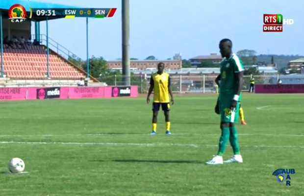 Eswatini Vs Sénégal: Famara Diedhiou rate le penalty