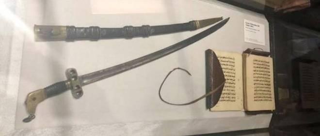 Le sabre d'El Hadj Omar prêté au Sénégal par la France