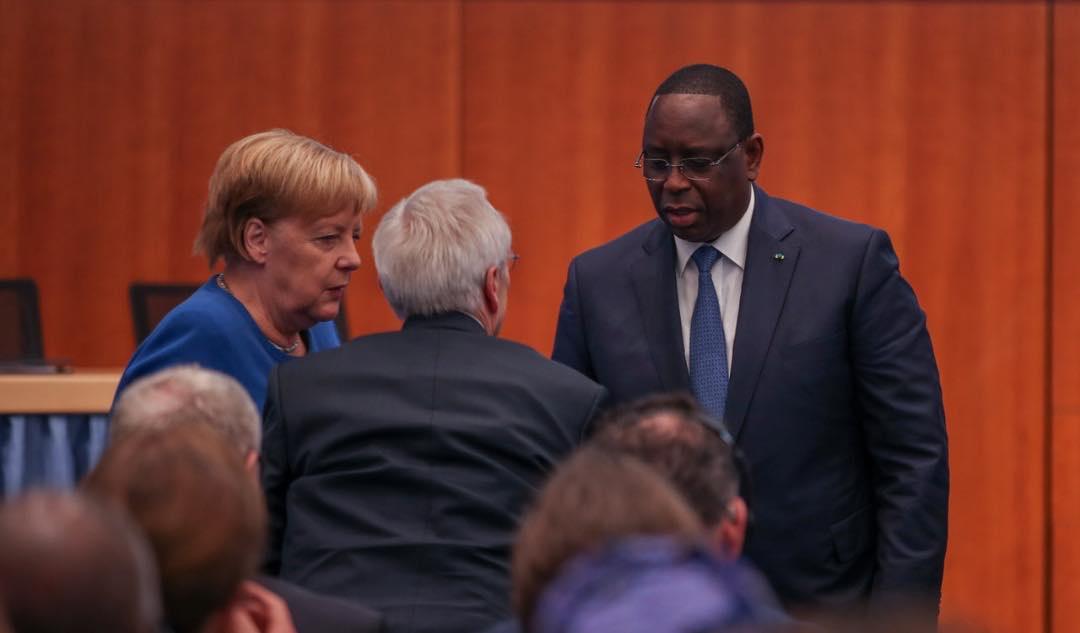 Les images du Président Macky à la conférence de Berlin sur le compact avec l'Afrique dans le cadre du G20