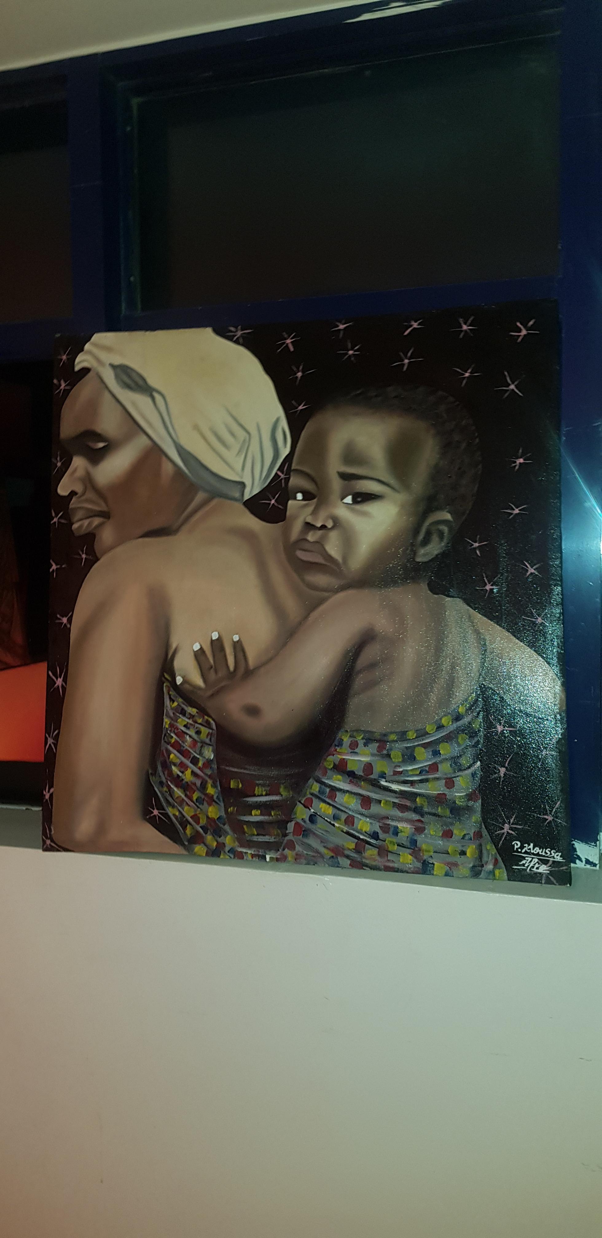 Le groupe Promo Consulting accompagne l'exposition et vernissage du jeune artiste Pape Moussa Mbaye.