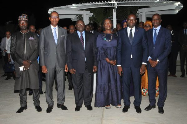 Discours de Abdoul MBAYE, à l'occasion du cocktail de départ de Blaise AHOUANTCEDE Directeur général du GIM UEMOA