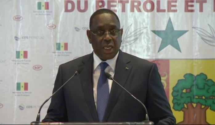 Hydrocarbure : Macky Sall rebaptise le champ pétrolier SNE