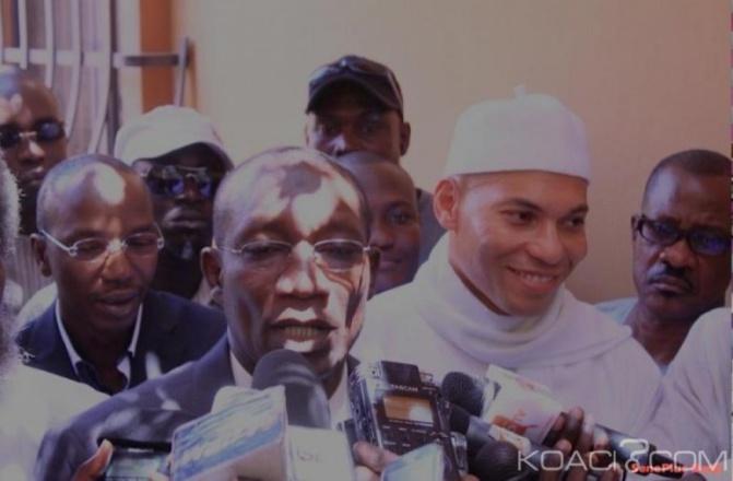 Pds : Karim Wade passe un coup de fil à Me Sall