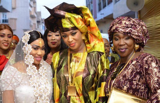 Admirez le Sagnsé de Ndiole Tall »Diamant Noir » au mariage Mohamed Niang