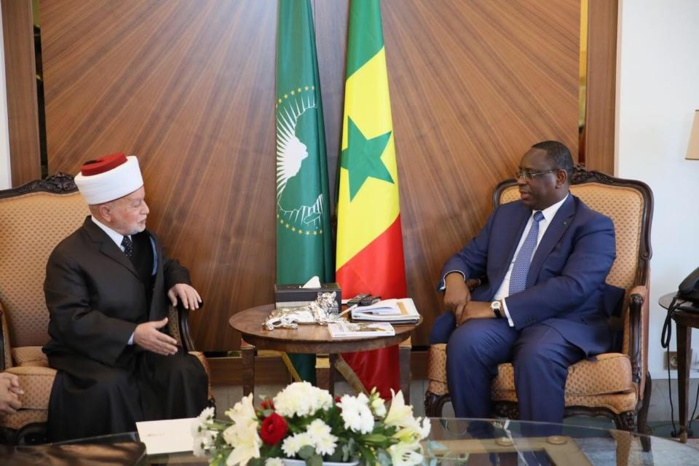 Sénégal- Palestine: le grand Mufti général de Jérusalem reçu par Macky Sall