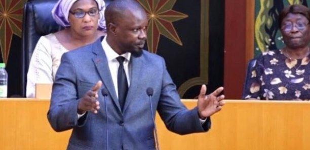 Sonko aux députés :« J'espère qu'il n'y a pas de blanchiment de drogue à l'Assemblée nationale… »