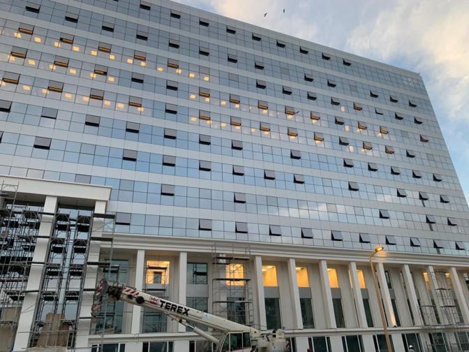 La réfection du building administratif a coûté 3,4 milliards