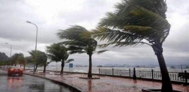 Alerte : Avis de vent fort sur l'axe Dakar-petite côte