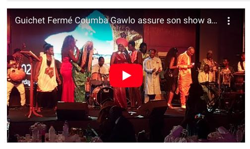 VIDÉO A guichet fermé, la Diva Coumba Gawlo réussie l'exploit du gala dans le cadre de TERROU WAR TOUR au musé de la civilisation noire.