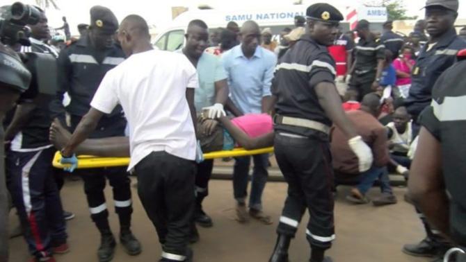 Kaolack: Une collision entre une camionnette et une voiture particulière fait 1 mort et 4 blessés