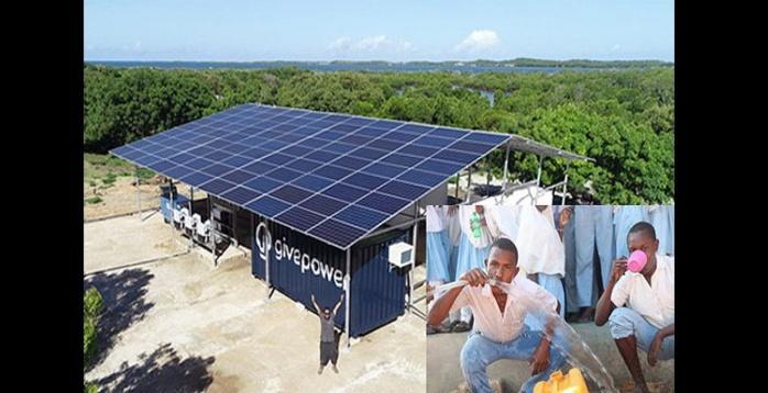 Le Kenya installe la première centrale solaire qui transforme l'eau de mer salée en eau potable