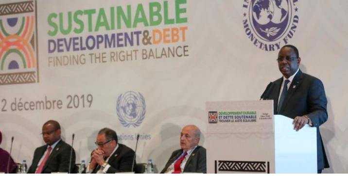 Discours du Président Macky Sall à la cérémonie de clôture de la conférence internationale pour le développement durable et la dette soutenable