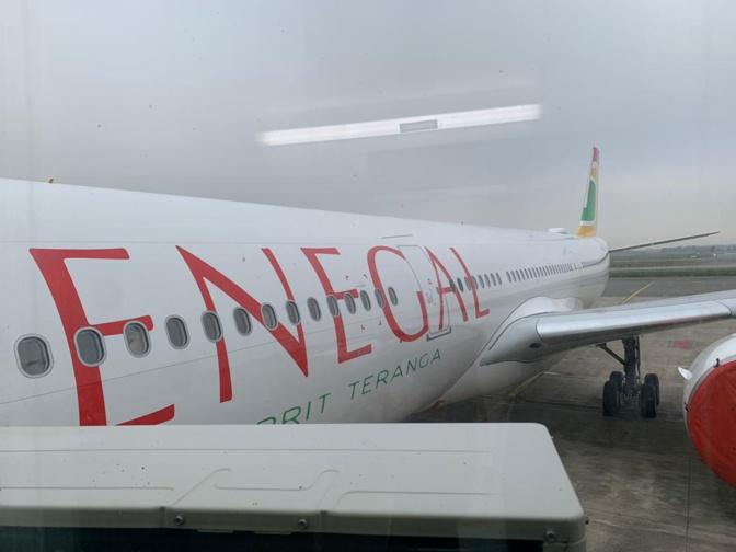 Air Sénégal : le nouvel Air Bus Néo A330, 'Sine Saloum' arrive à Dakar cet après-midi