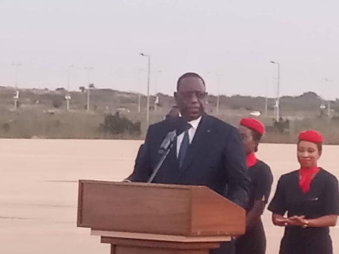 Réception du 2e A330 Néo d'Air Sénégal: les mises en garde de Macky Sall aux responsables de la compagnie