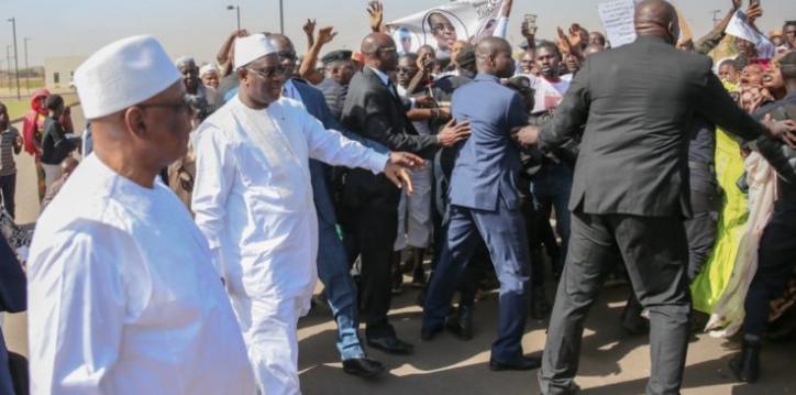 Photos : Les militants de l'APR à l'accueil du Président Macky Sall à Bamako