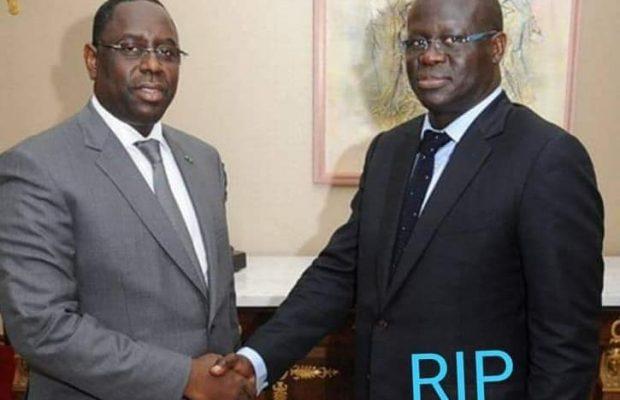 L'ex Dg de la Senelec, Seydina Kane est décédé, Le défunt a été ministre Conseiller du Président du Macky Sall