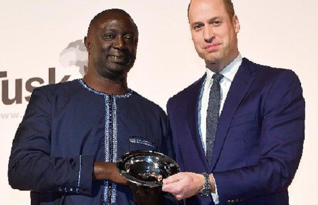Londres : Un scientifique sénégalais rencontre le prince William