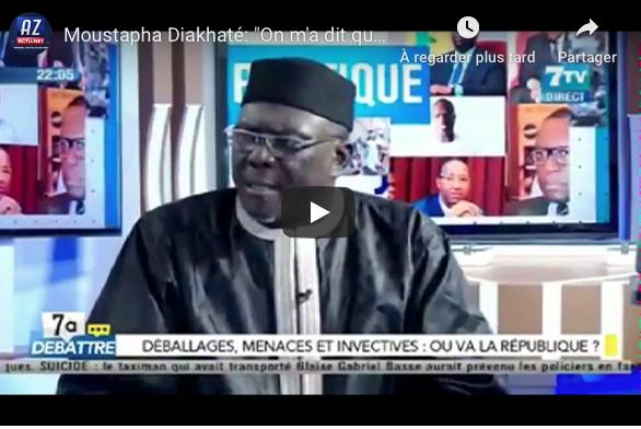 """Moustapha Diakhaté: """"Macky Sall aurait demandé à Mahmoud Saleh d'engager des jeunes pour m'insulter"""""""