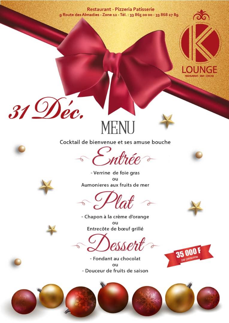 Spécial bal rétro à l'ancienne ce 28 décembre au K. LOUNGE à l'étage de chez Katia Almadie en face station shell Ngor