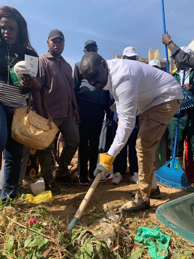 Sénégal Zéro déchet: Le travail du Ministre Abdou Karim Fofana salué par des apéristes de Grand-Yoff