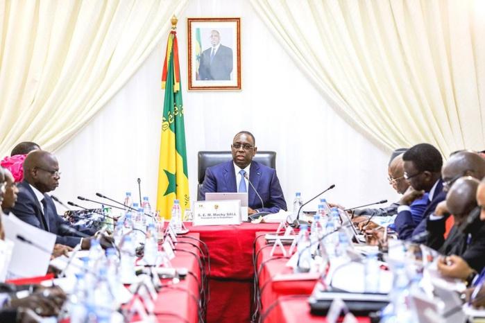 Conseil des ministres du jeudi 02 janvier 2020: Voici les instructions de Macky Sall au gouvernement