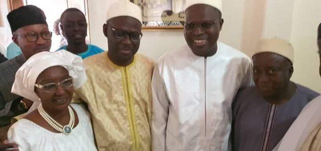 Saint-Louis: Khalifa Sall rend une visite surprise à Cheikh Bamba Dièye