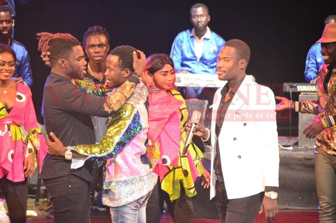 Show Sidy Diop au grand theatre: Balla Gaye 2, Ngaka Blindé, Momo Dieng, Pama, El Hadj Keita séduit le grand public.