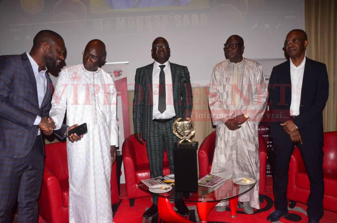 11eme Anniversaire Rewmi quotidien:   Me Moussa Sarr désigné homme de l'année 2019.