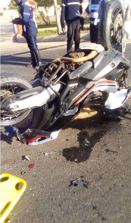 Thiaroye : Grave accident de moto sur l'autoroute à péage