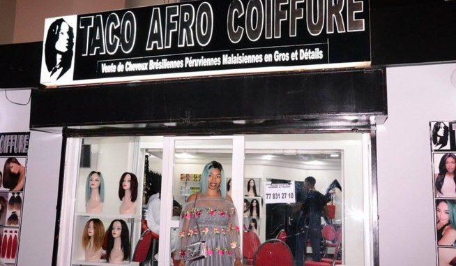 La boutique Taco Afro coiffure de Dakar cambriolée dans la nuit de vendredi au samedi