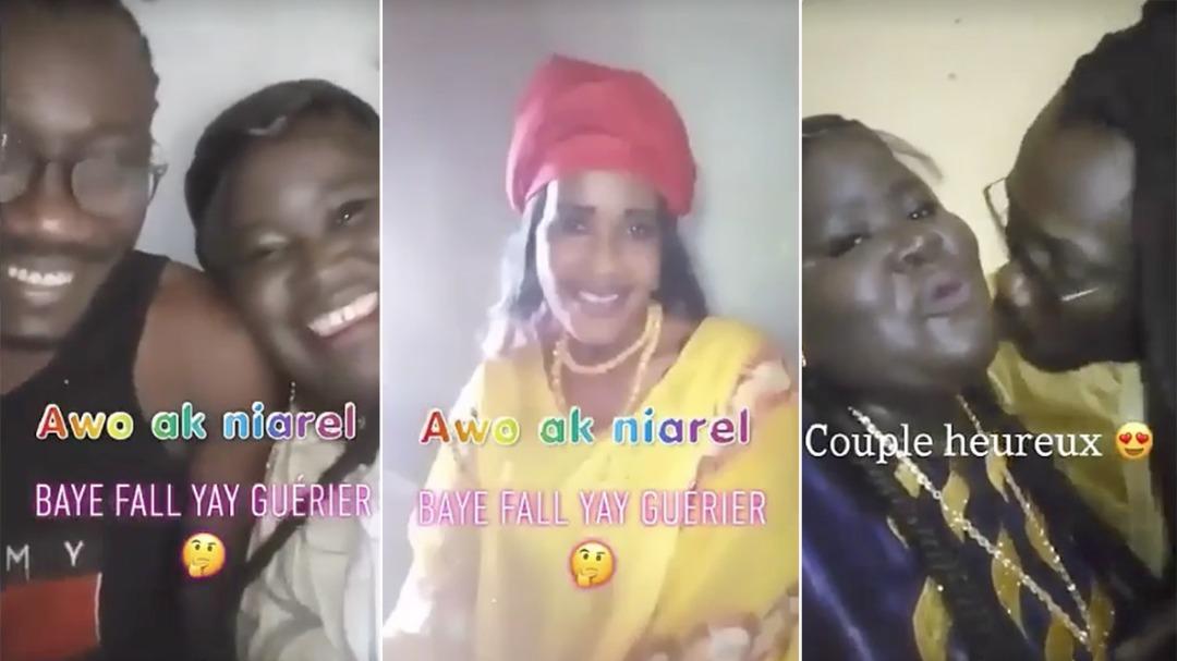 VIDÉO Baye Fall wiri wiri: en plein divorce avec sa 2ème femme la tigresse; il affirme « aye rappe moma diapone bimakoye takk »