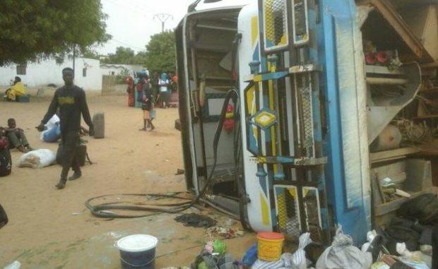 Kaffrine : Plusieurs blessés graves dans un accident survenu à Katakel