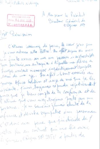 La réplique de la 2STV  au responsable technique El Hadj Malick Diop a démissionné de son propre gré. Pourquoi il en veut à Madame Ndiaye