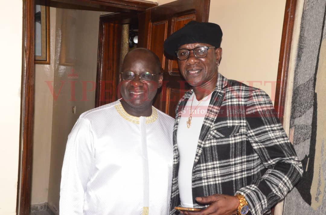 VIDÉO: Ambiance à l'anniversaire du président Mbagnick Diop avec Mamadou Lamine Maiga.