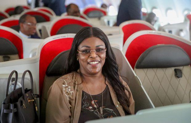 Air Sénégal: le Président Macky SALL et Marième Faye Sall à Londres