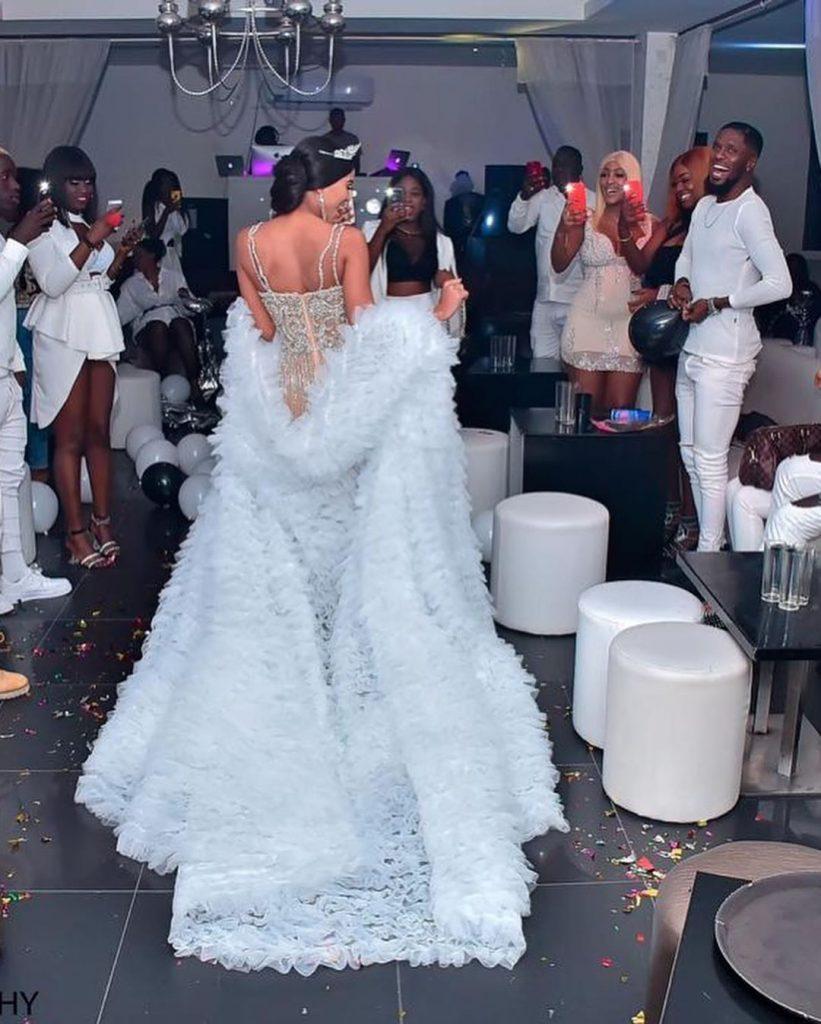 L'incroyable anniversaire de Marie Louise Diaw, la Première dauphine de Miss Dakar 2012