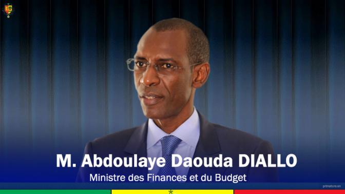 """Abdoulaye Daouda Diallo, Ministre des Finances et du Budget : """"le Sénégal affiche une bonne santé économique et financière"""""""