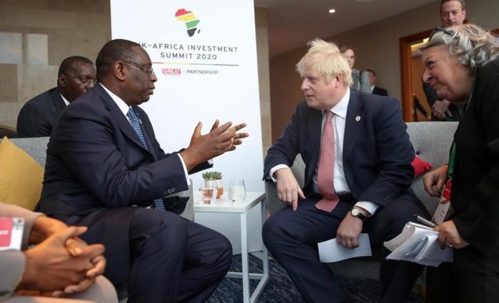 Rencontre avec Macky Sall à Londres : Boris Johnson « ouvre » les portes de son pays au Sénégal