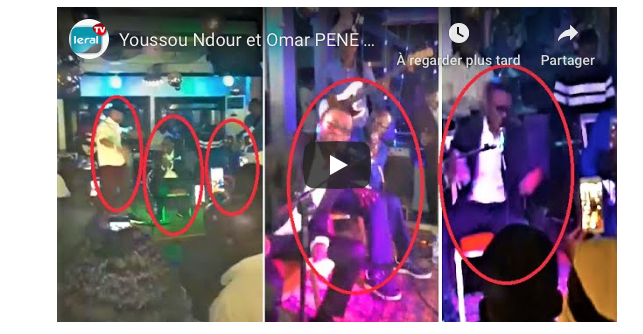 """Youssou Ndour et Omar Pène mettent le feu à l'anniversaire """"privé"""" de Dioufy à la Villa Krystal"""
