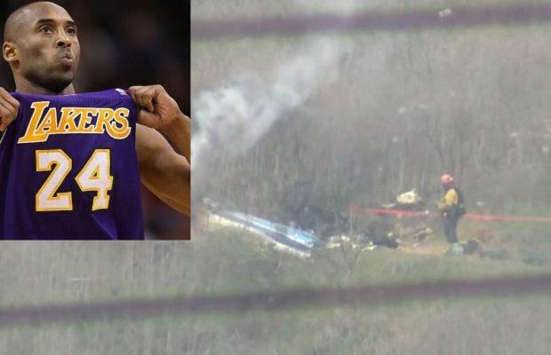 Décès de la star de la NBA Kobe Bryant, Les images de l'accident d'hélicoptère