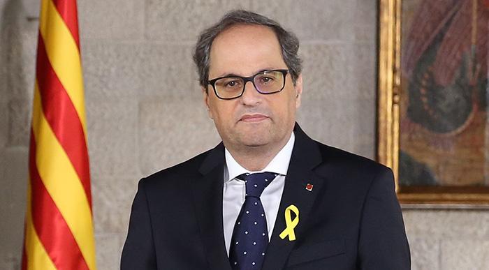 Espagne: Le président indépendantiste catalan Quim Torra perd son mandat de député