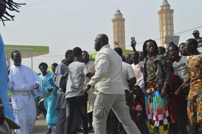 Kaolack: Serigne Mountakha Mbacké accueilli par une foule immense
