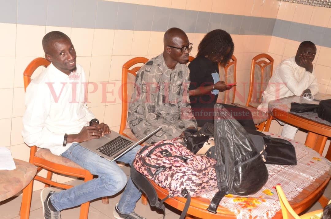 Point de presse: L'artiste Demba Guissé déplore ce qu'il déteste dans la musique Sénégalaise