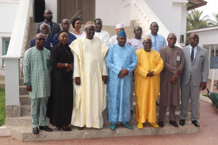 Médiation en Gambie: Après l'opposition, Moustapha Cissé Lô rencontre le Président Adama Barrow...