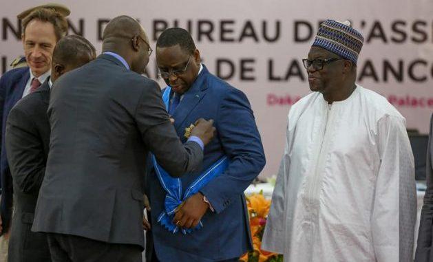 Parlement de la Francophonie: Macky Sall a reçu la distinction de grand croix dans l'ordre de la pléiade